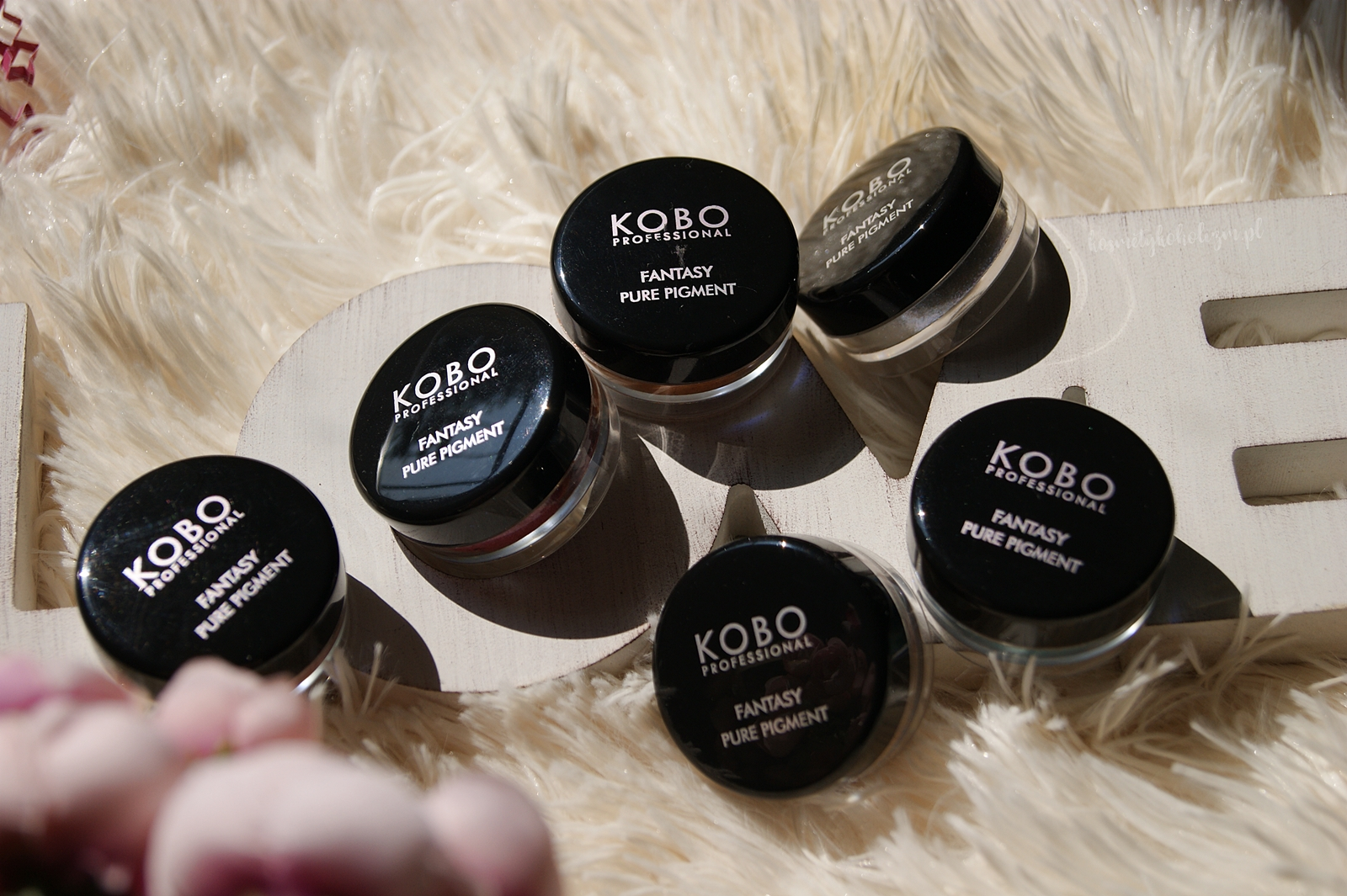 KOBO Fantasy Pure Pigment 2018 | Piękne pigmenty z Drogeria Natura