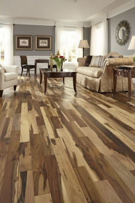 Creative Wood Floors Design Ideas