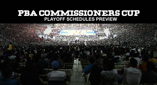 2018 PBA Commissioner's Cup Playoffs Schedules List Preview