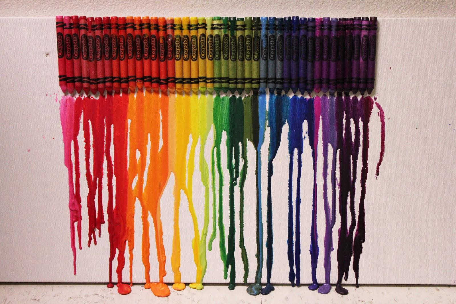 Creativecasey Family Fun Friday Crayon Art