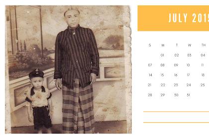 Kalender 2019 Santri Dafa