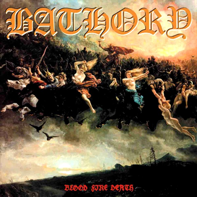 Grand Magus - JB's favourite vinyl artwork: Bathory