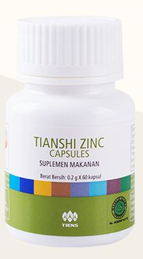 zinc capsule tiens