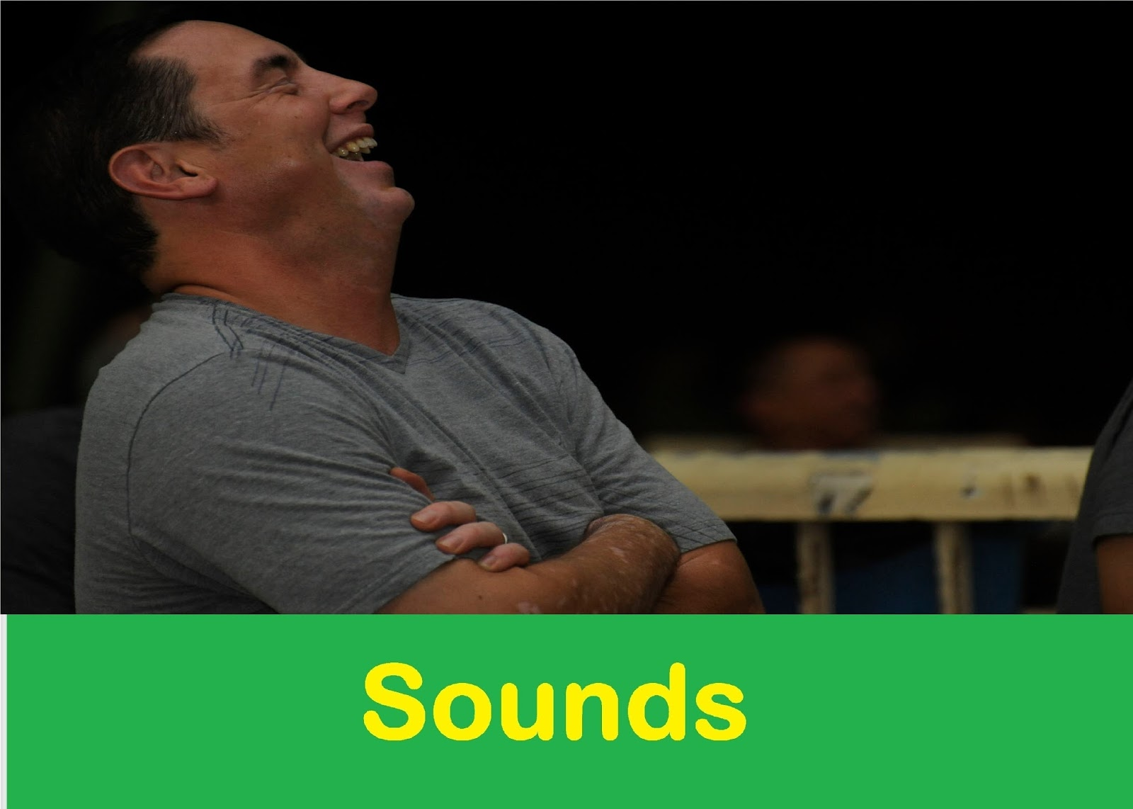 Laughing Man Sound Effect