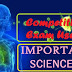 सामान्य विज्ञान के 60 प्रतियोगी परीक्षा उपयोगी महत्वपूर्ण प्रश्न