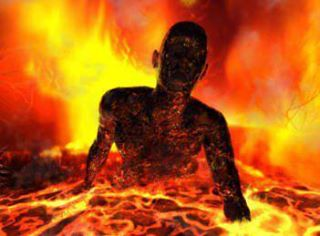 pastor in buring torment of hell