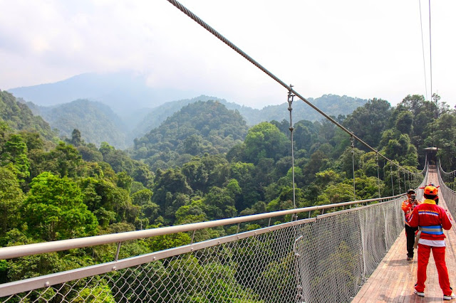 suspension bridge sukabumi