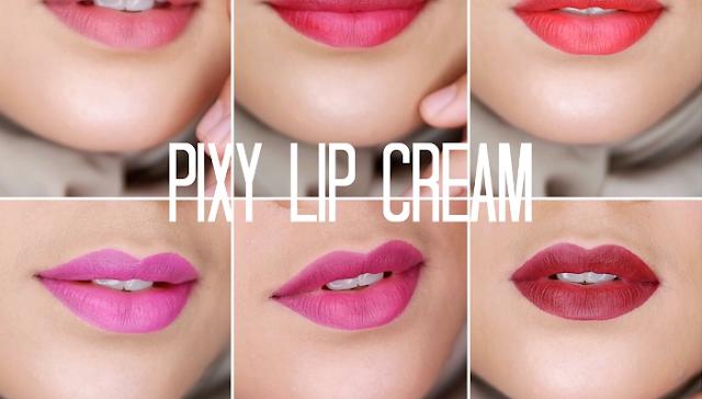 Lipstik pixy untuk bibir kering
