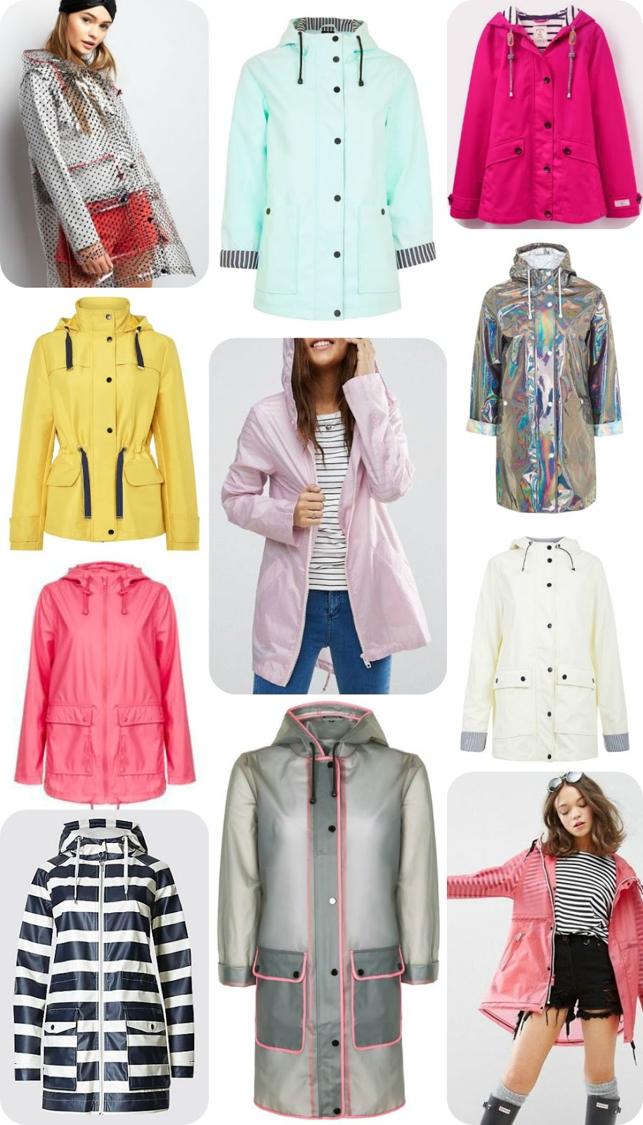 Stylish Rainwear - my top picks