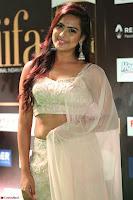 Prajna Actress in backless Cream Choli and transparent saree at IIFA Utsavam Awards 2017 0113.JPG