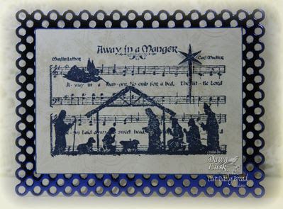 Our Daily Bread Designs Stamps - Away in a Manger, Sparkling Snowflakes