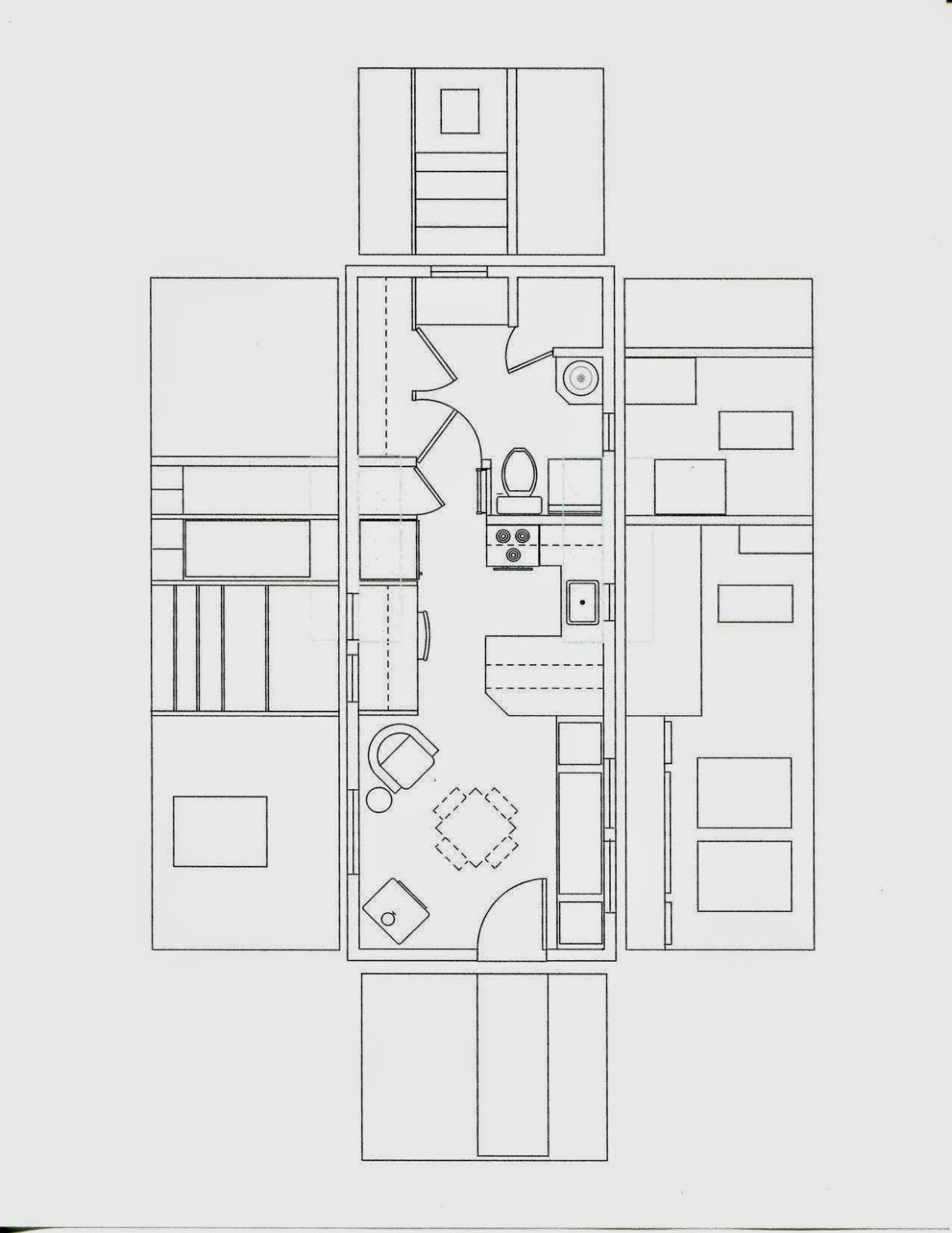 Todd S Tiny Home The Floor Plan