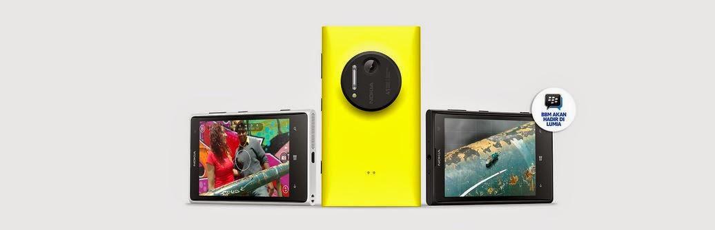 Fitur dan Spesifikasi Nokia Lumia 1020 (EOS)
