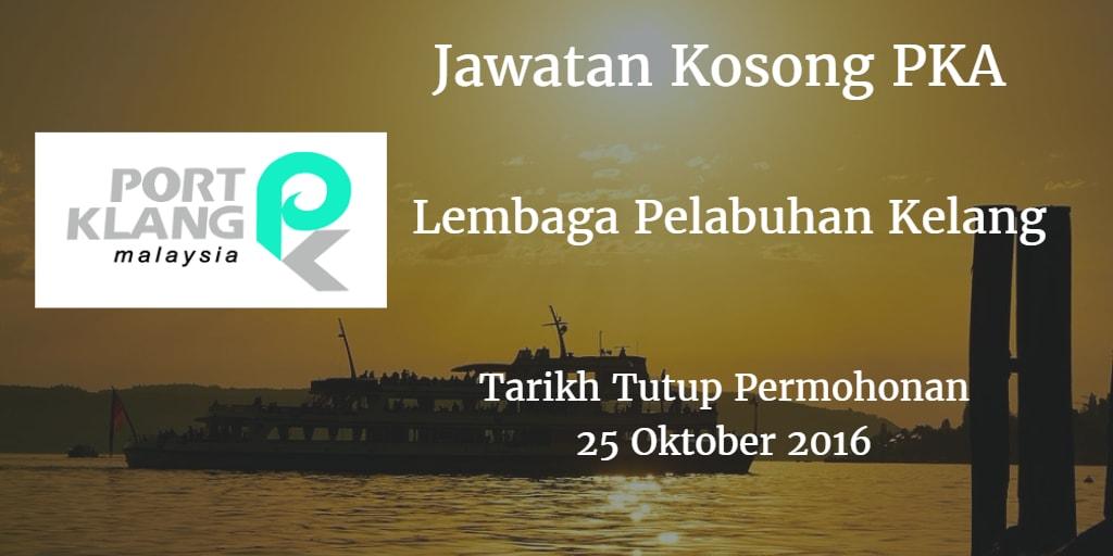 Jawatan Kosong PKA 25 Oktober 2016