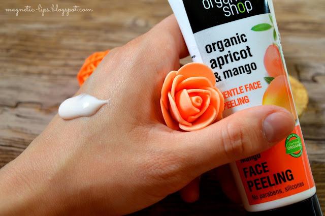 organic shop peeling
