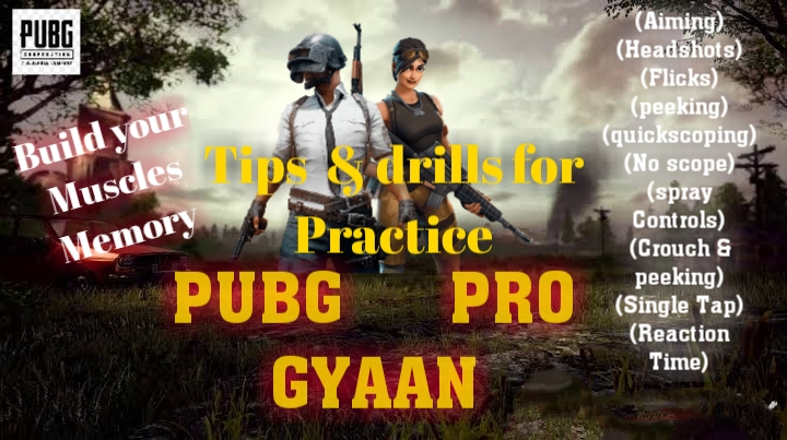 Top secret drills for practice in Pubg Mobile to become a Pro