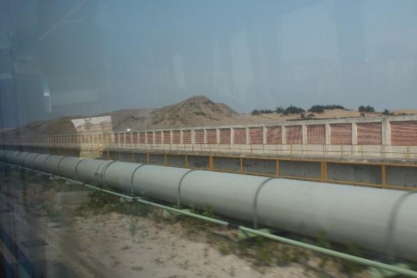 Hệ thống đường ống xả thải của FHS Hà Tĩnh