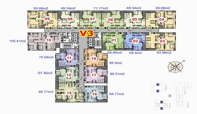 The Terra 83 Hào Nam - căn hộ chung cư liền kề biệt thự shophouse