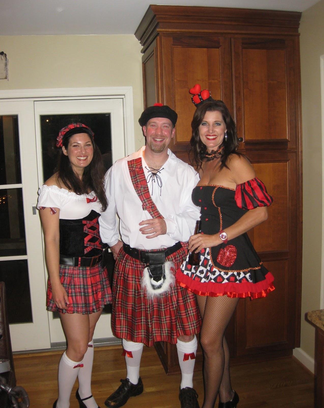 Red Hot Halloween Scottish Lass-9457