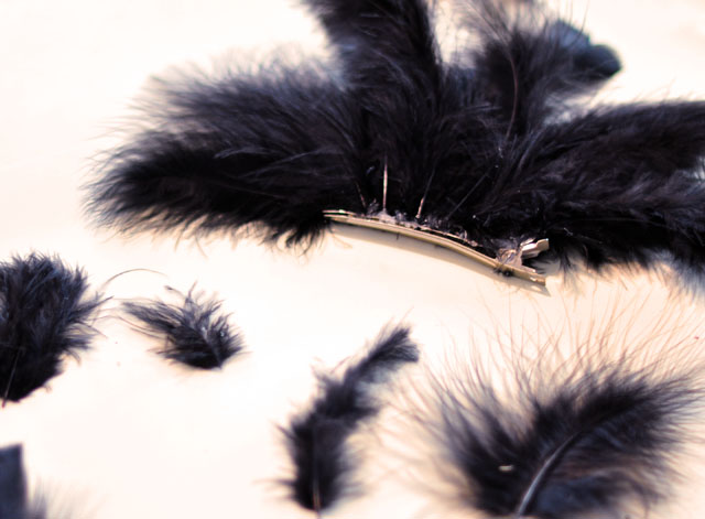 DIY Feather Mohawk + Faux Hawk / Feather Headdress |    love