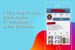 Cara Bisnis Online di Instagram