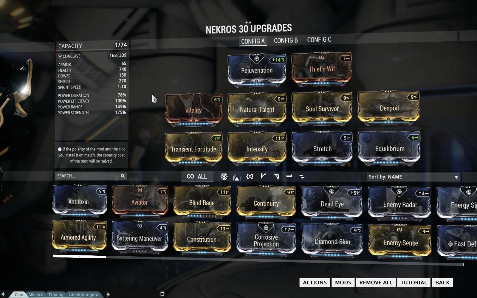 Best Nekros Build