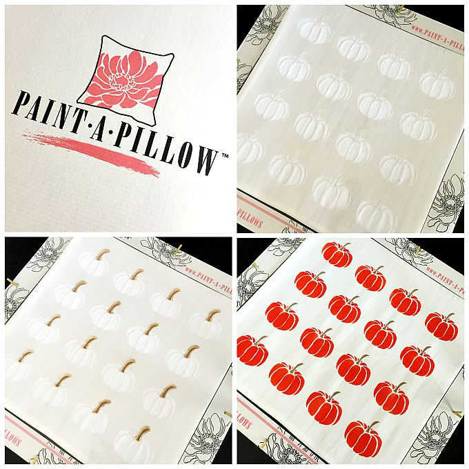 Paint a Pillow Kit Tutorial