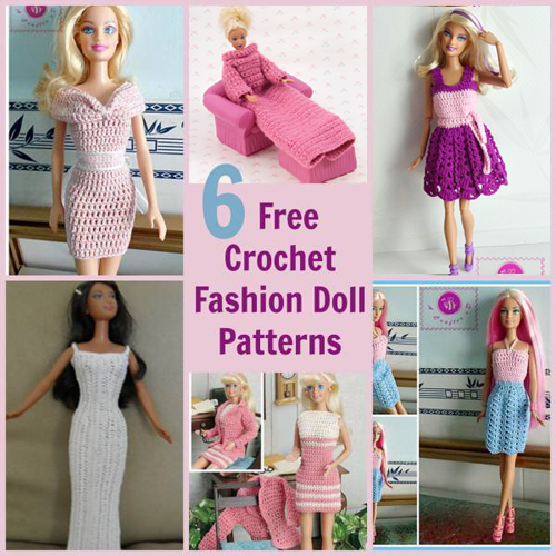 Barbie Fashion Doll Free Patterns