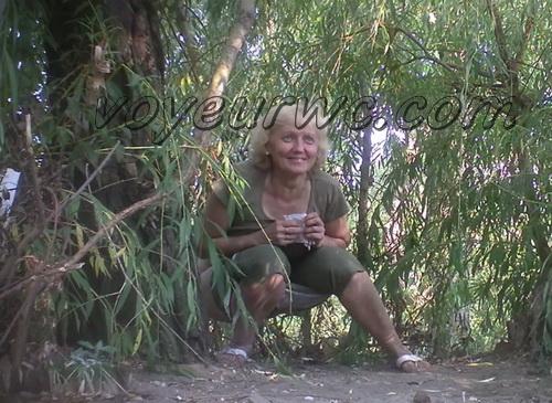PissHunters 9316-9331 (Outdoor voyeur peeing. Voyeur public toilet spy cam)