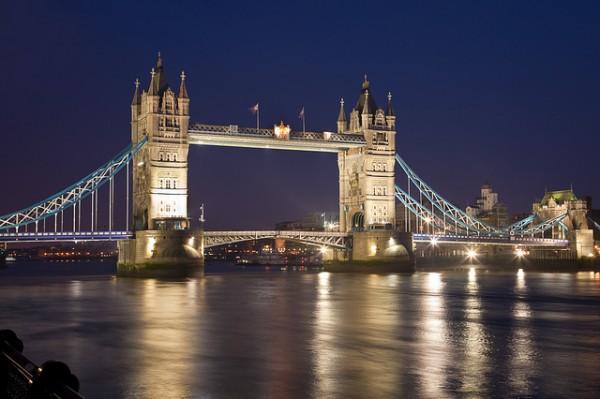 The Tower Bridge, London, UK by John Kennan