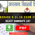 D.EL.ED Entrance Exam 2016-17 Selected Candidates List