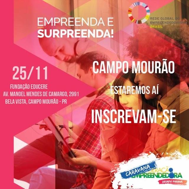 Workshop Geração Empreendedora Desafio Paraná
