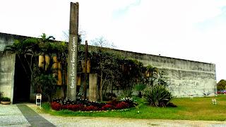 Centro Cultural, no Parque Centenário, Criciúma