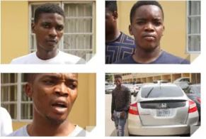 EFCC arrests Yahoo Boys in Lagos state,Seizes Their Properties