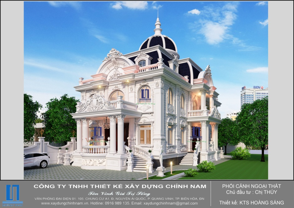 BT40: Biệt thự kiểu Pháp ở Tây Ninh