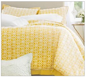 In No Simple Language: June 2011 - Yellow Bed Sets