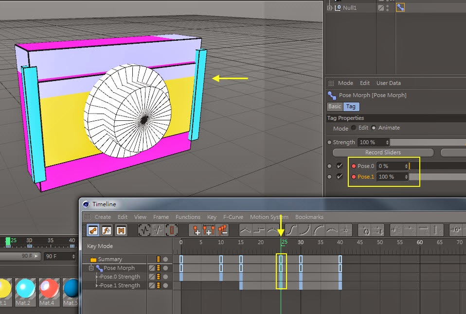Transform Shape in C4D 14.4