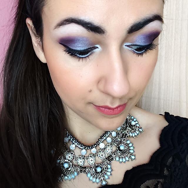 makeup look sleek i-divine enchanted forest eyeshadow palette