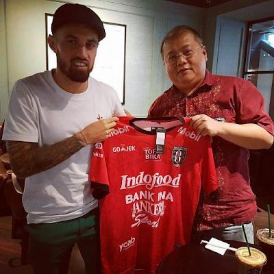 Resmi : Stefano Lilipaly Gabung Bali United