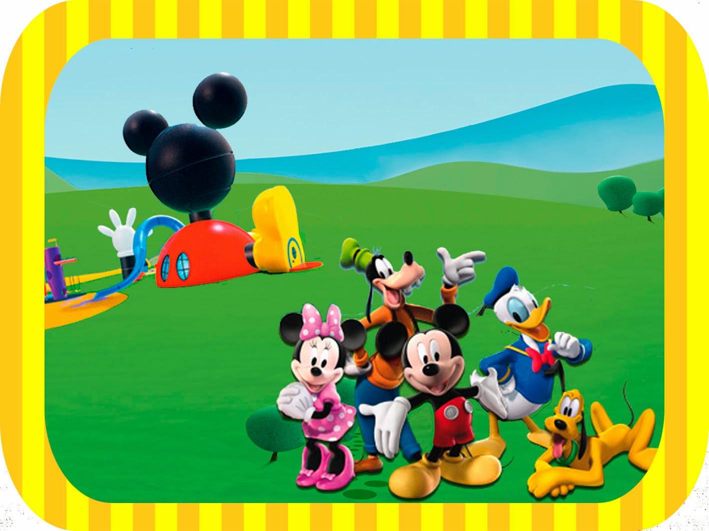 Casa de Mickey: Etiquetas para Candy Bar para Imprimir Gratis ...
