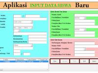 Download Aplikasi Data dan Profil Data Siswa Terbaru Dan Tercanggih