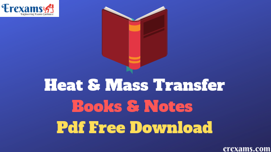 Heat & Mass Transfer Books Free Pdf Download