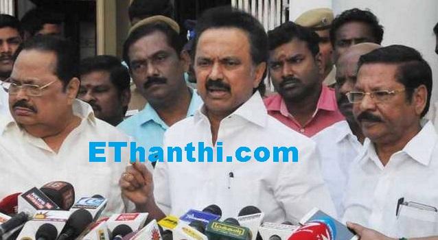ஜெயலலிதா மரணத்தில் குற்றவாளி ஓபிஎஸ் - ஸ்டாலின் | Culprit OPS - Stalin in Jayalalithaa's death !