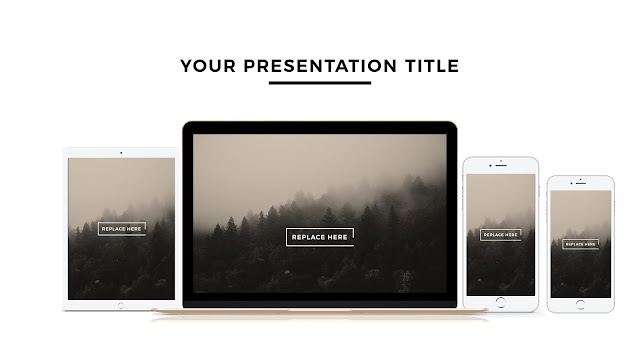 Apple Devices Mock-up Free Powerpoint Template