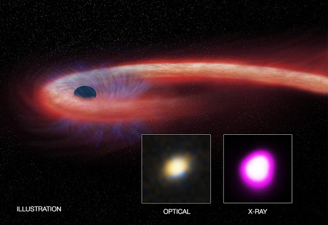 Black hole feeding frenzy discovered that breaks records