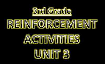 Reinforcement Activities Unit 3
