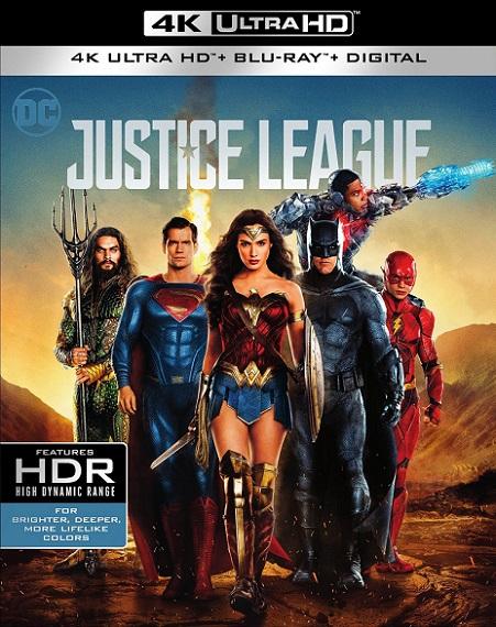 Justice League 4K (Liga de la Justicia 4K) (2017) 2160p 4K UltraHD HDR BluRay REMUX 49GB mkv Dual Audio Dolby TrueHD ATMOS 7.1 ch