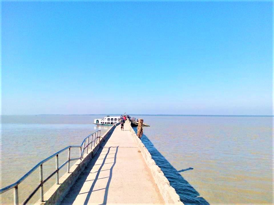Monpura Landing Station