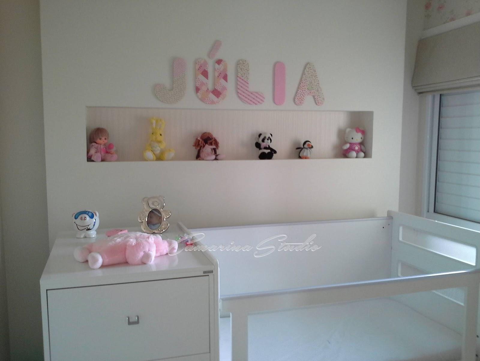 Interiores: Quarto Infantil De Menina Em Tons Neutros