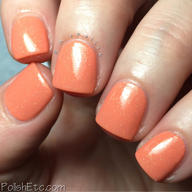 KBShimmer Spring 2016 Collection - McPolish - Hello Dahlia